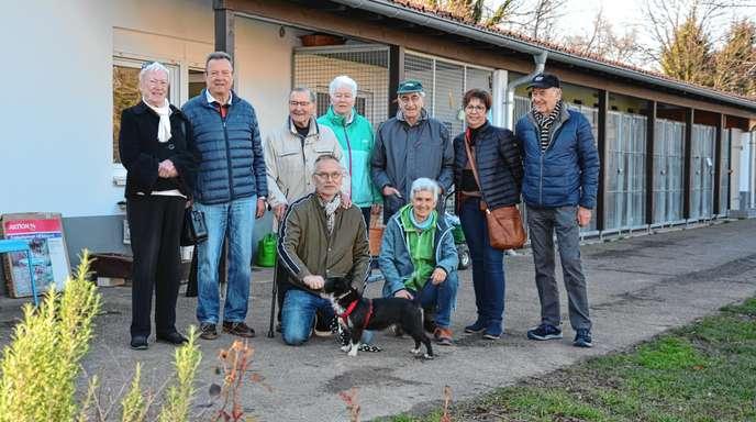 Hunde helfen beim Demenzprojekt