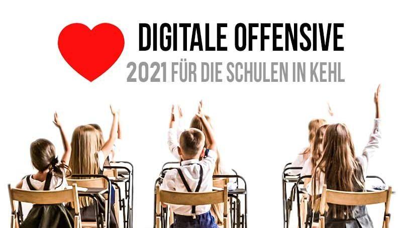 Digitale Offensive für Schulen in Kehl 2021